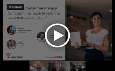 Replay Webinar Consumer Privacy