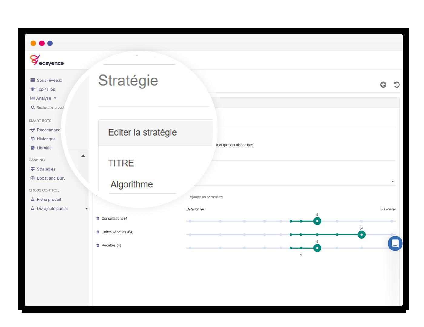 Capture Easyence Platform - Stratégie e-merchandising